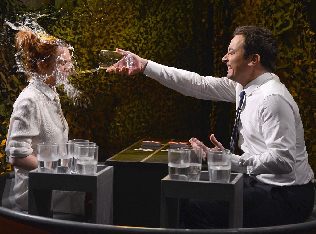 Lindsay Lohan, Jimmy Fallon, Tonight Show