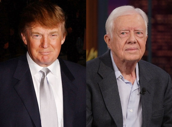 Donald Trump, Jimmy Carter