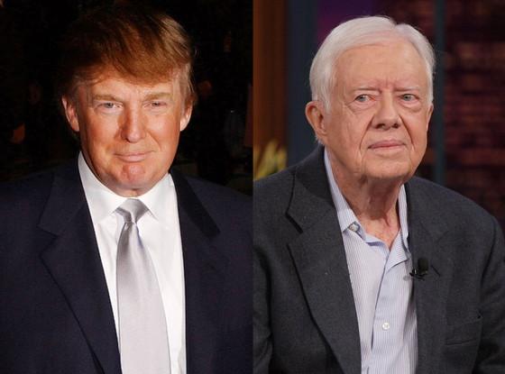 Donald Trump, Jimmy Carter