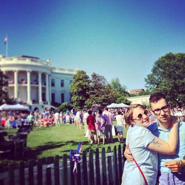 Lena Dunham, Jack Antonoff, Instagram