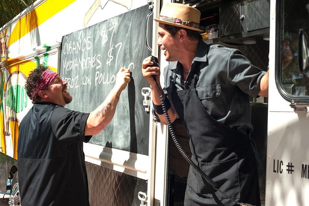 John Leguizamo, Jon Favreau, Chef
