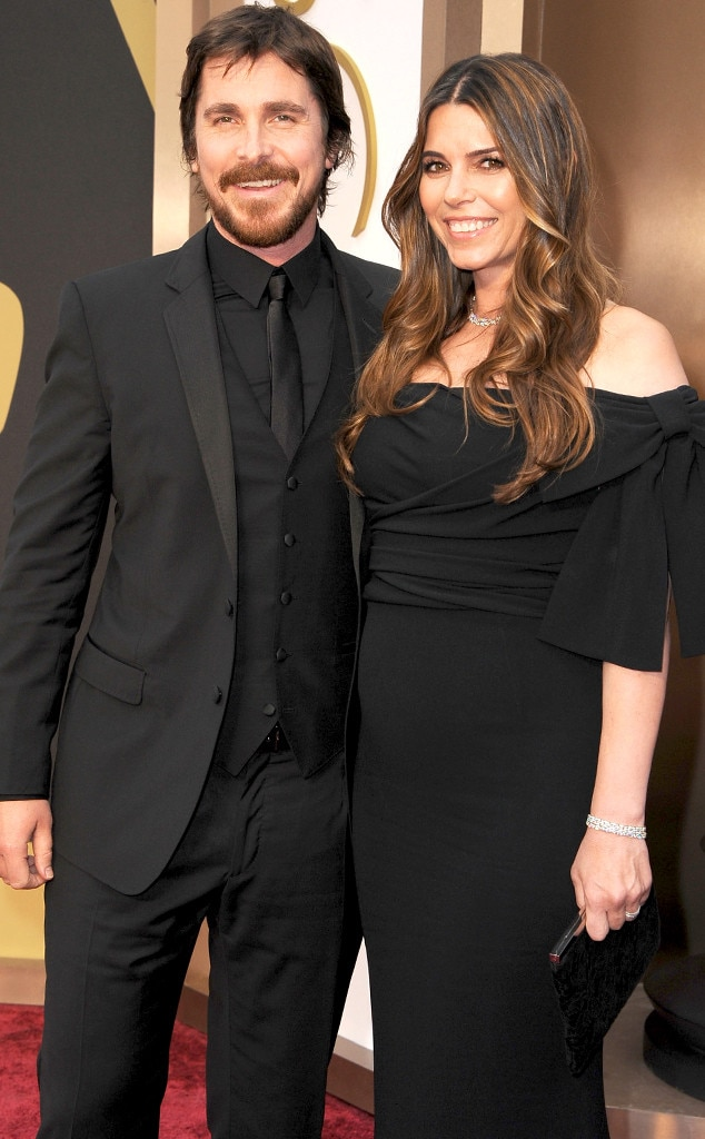 Amazing Christian Bale And Wife Sibi Welcome Baby No 2 E News Hairstyle Inspiration Daily Dogsangcom