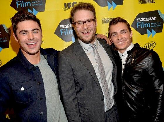 Seth Rogen, Dave Franco, Zac Efron, SXSW