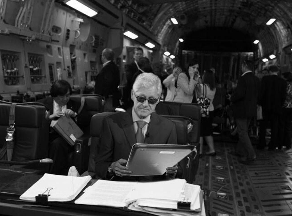 Bill Clinton, Twitter
