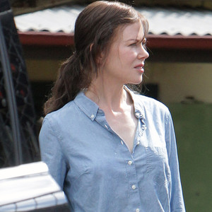 Nicole Kidman Goes Brunette While Filming <i>Strangerland</i>&mdash;See the Pic!