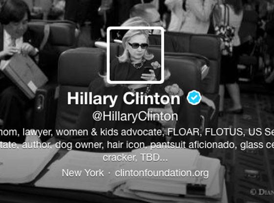 Hillary Clinton, Twitter