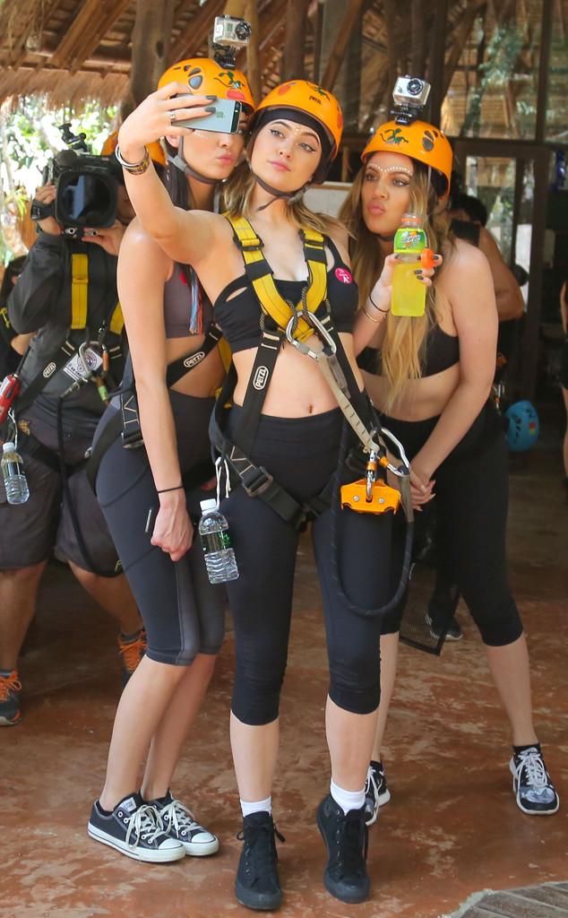 Kendall Jenner, Kylie Jenner, Khloe Kardashian, Thailand