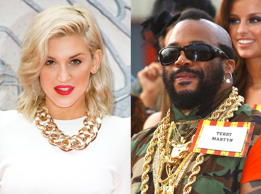 Mr. T, Ashley Roberts, Chunky Chains