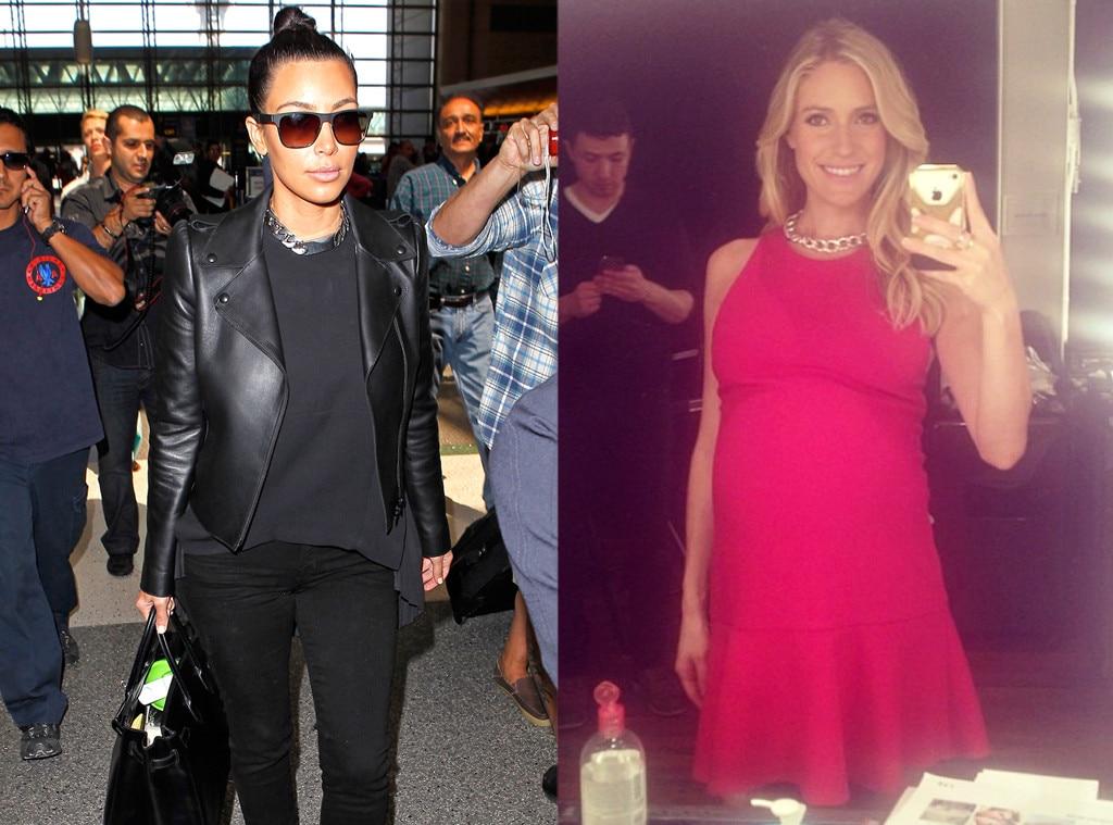 Kim Kardashian, Kristin Cavallari, Chunky Chains