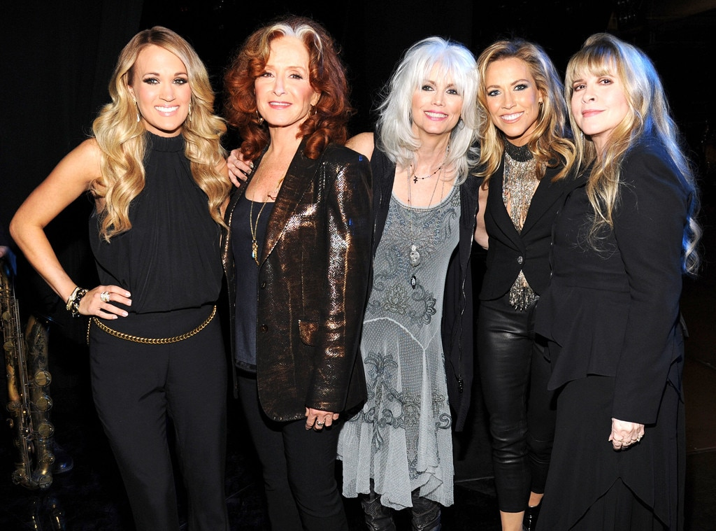 Carrie Underwood, Bonnie Raitt, Emmylou Harris, Sheryl Crow, Stevie Nicks