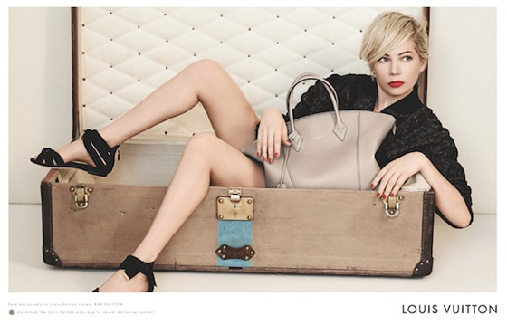 Michelle Williams, Louis Vuitton
