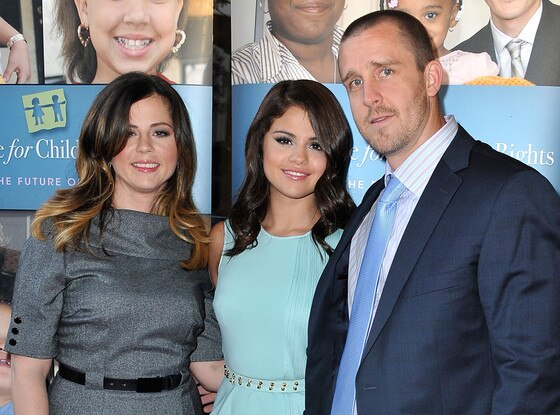 Mandy Teefey, Selena Gomez, Brian Teefey