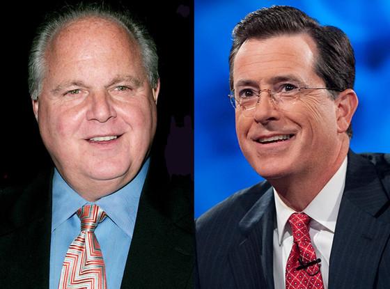 Stephen Colbert, Rush Limbaugh