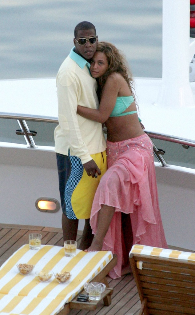 Jay-Z, Beyonce, French Riviera