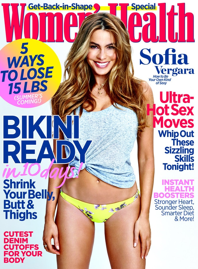 Sofia Vergara, Women's Health