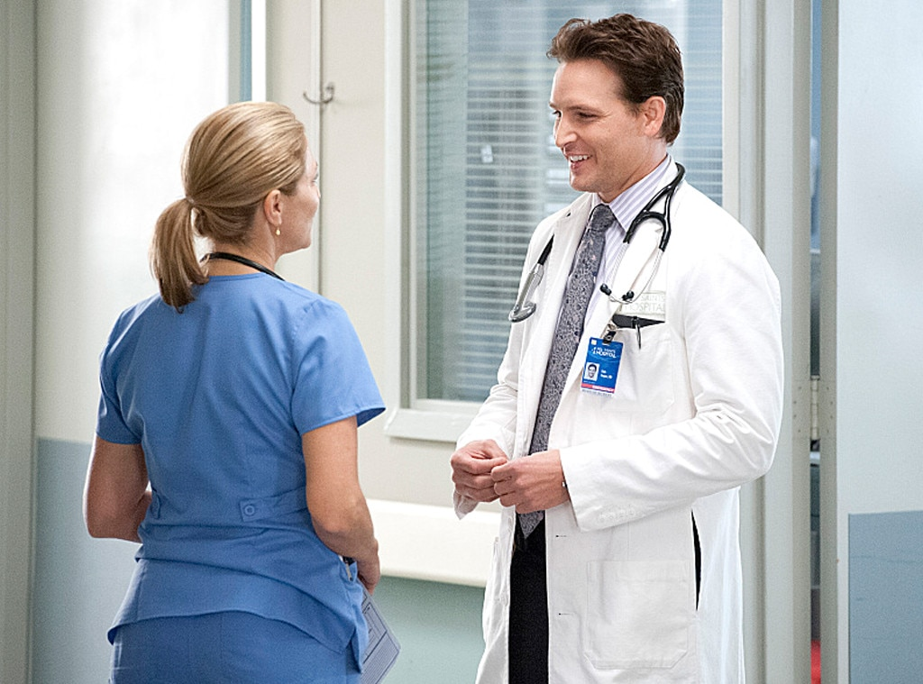 Nurse Jackie, Edie Falco, Peter Facinelli