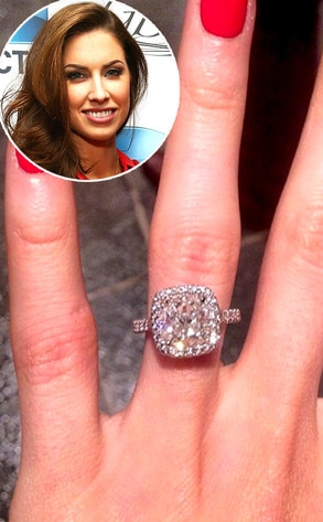 Katherine Webb, Engagement Ring