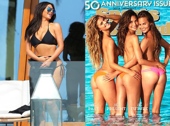 Sports Illustrated, Lily Aldridge, Nina Agdal, Chrissy Teigen, Kim Kardashian
