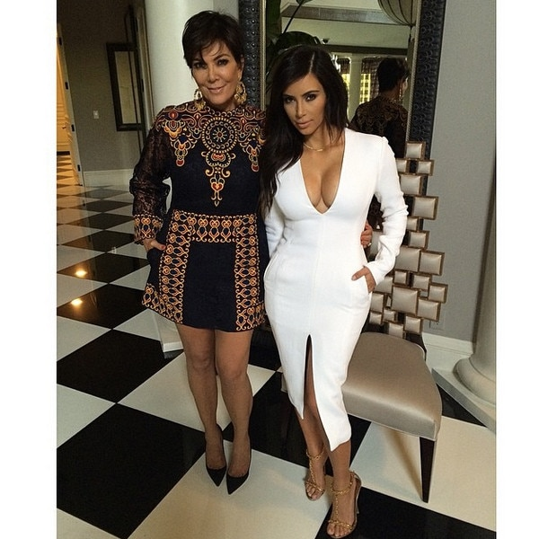 The Kardashians, Instagram