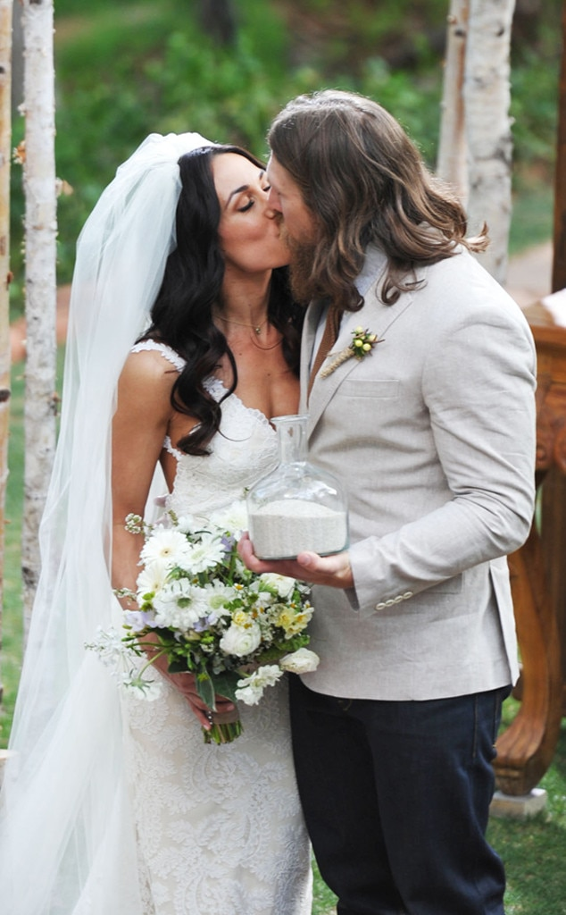 Brie Bella, Daniel Bryan, Wedding