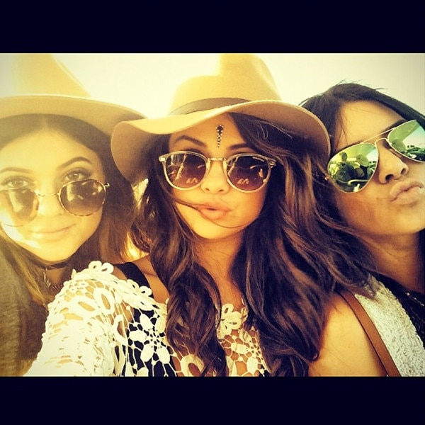Kendall Jenner, Kylie Jenner, Selena Gomez