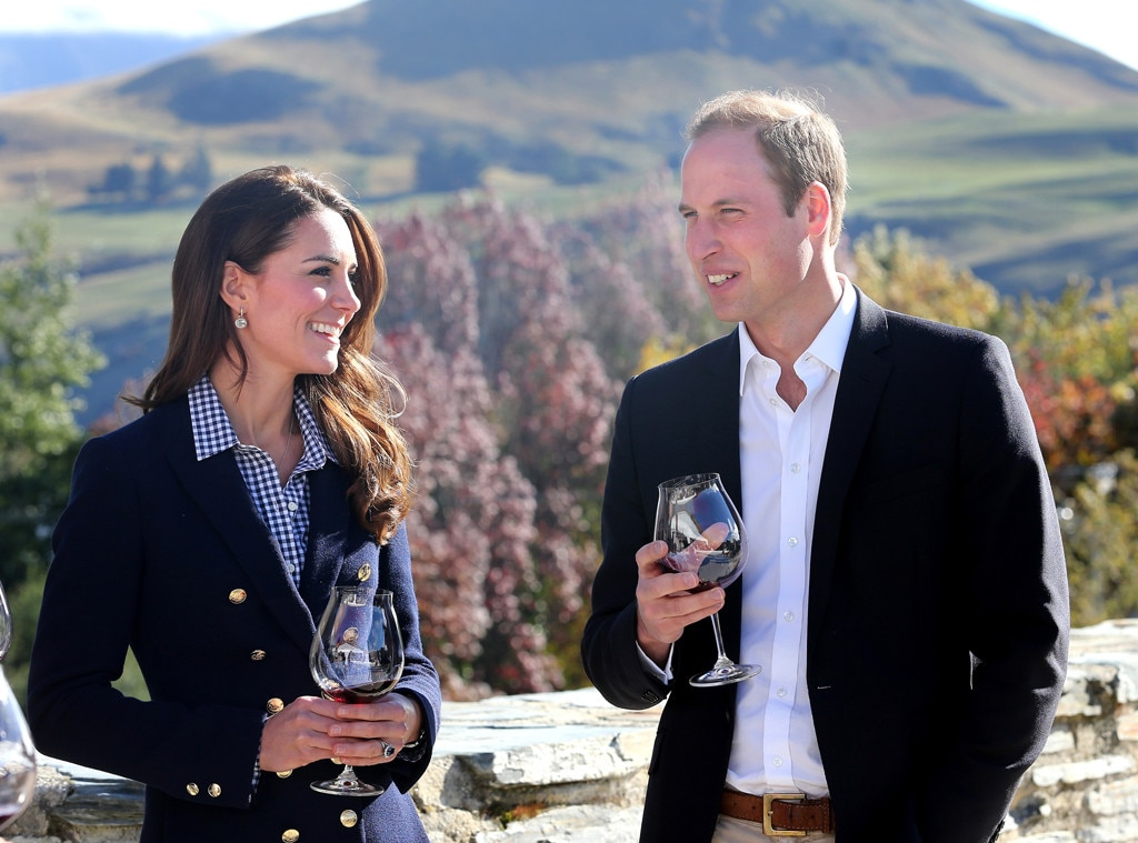 Kate Middleton Squashes Pregnancy Rumors And Drinks During