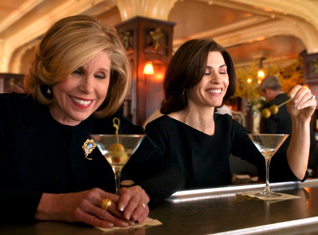 The Good Wife, Julianna Margulies, Christine Baranski