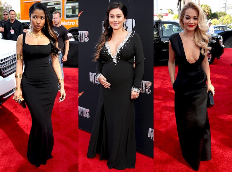 Jwoww, Rita Ora, Nicki Minaj, MTV Movie Awards