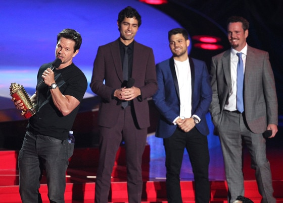 Mark Wahlberg, Kevin Dillon, Jerry Ferrara, Adrian Grenier, MTV Movie Awards