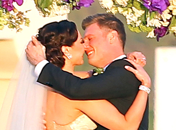Nick Carter, Lauren Kitt, Wedding