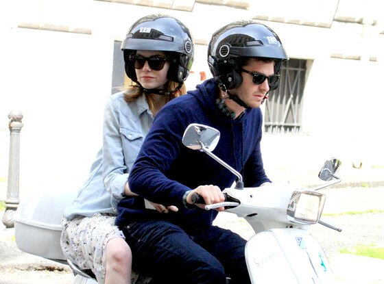 Emma Stone, Andrew Garfield, Roman Holiday