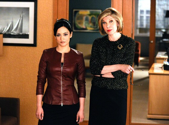 The Good Wife, Archie Panjabi, Christine Baranski