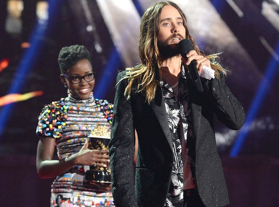 Jared Leto, Lupita Nyong'o, MTV Movie Awards