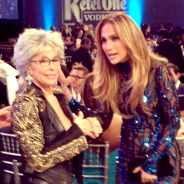 Rita Moreno, Jennifer Lopez