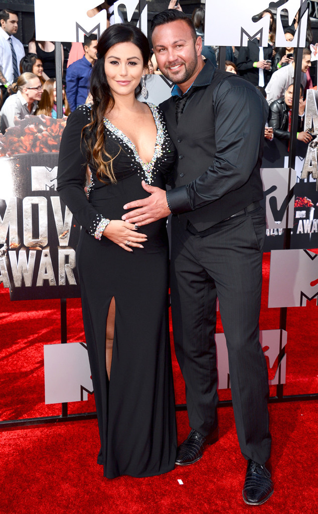 "Jennifer ""JWoww"" Farley, Roger Mathews, MTV Movie Awards"
