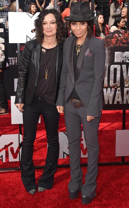 Sara Gilbert, Linda Perry, MTV Movie Awards
