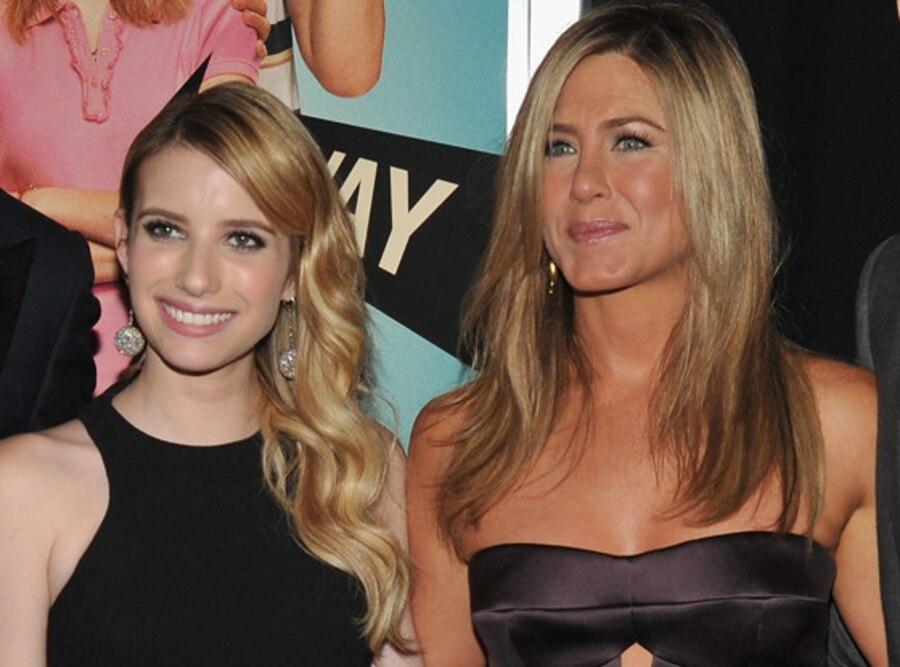 Emma Roberts, Jennifer Aniston