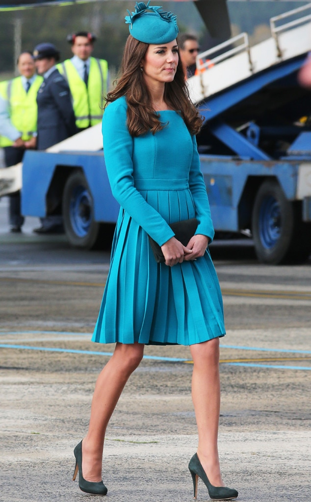 ESC: Kate Middleton, Style Story, April 2014