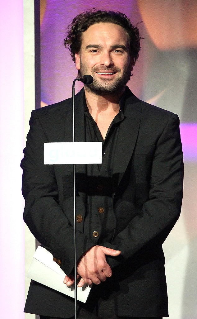 Johnny Galecki, GLAAD Media Awards