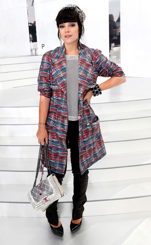 Lily Allen, Paris Fashion Week