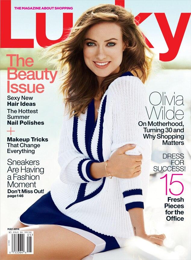 Olivia Wilde, Lucky Magazine