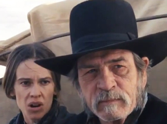 Hilary Swank, Tommy Lee Jones, The Homesman