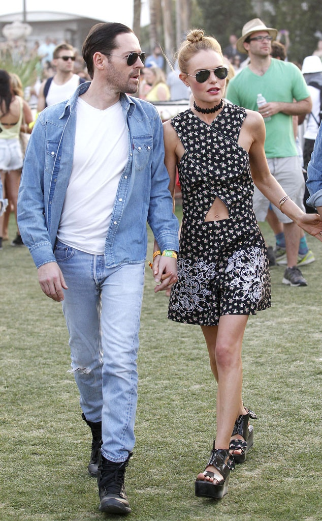 Kate Bosworth, Michael Polish, Coachella