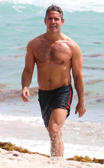 Andy Cohen, Shirtless