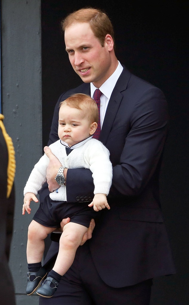 Prince William, Duke of Cambridge, Prince George of Cambridge