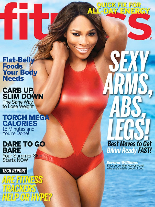 Serena Williams, Fitness Magazine