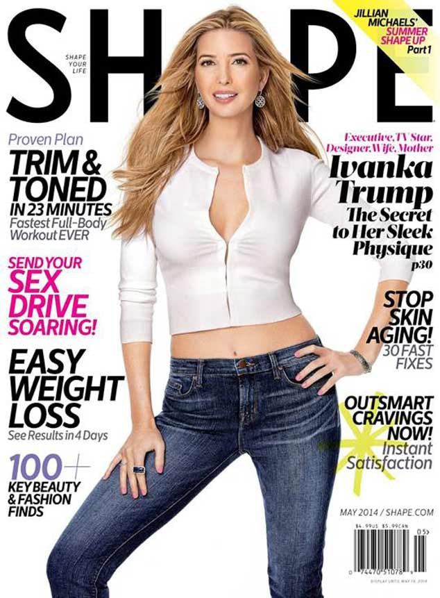 Ivanka Trump, Shape Cover