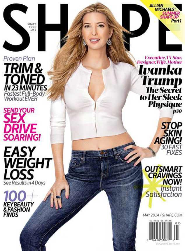 Ivanka Trump, Shape Cover