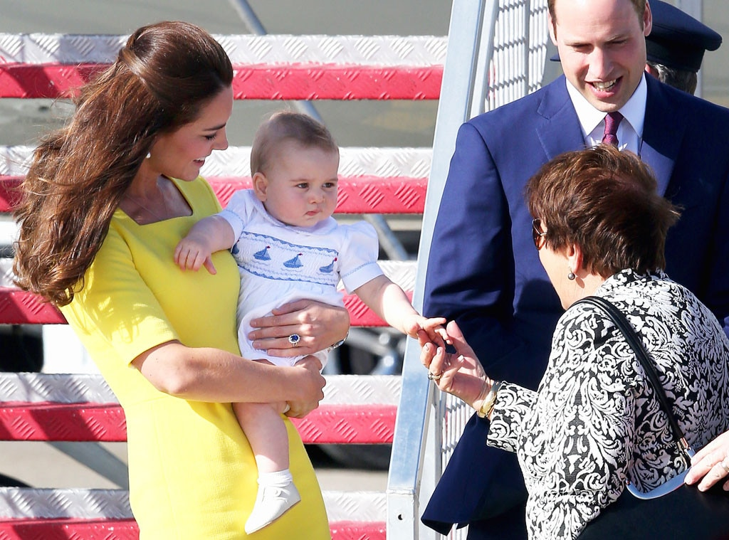 Kate Middleton, Prince William, Prince George, Lynne Cosgrove