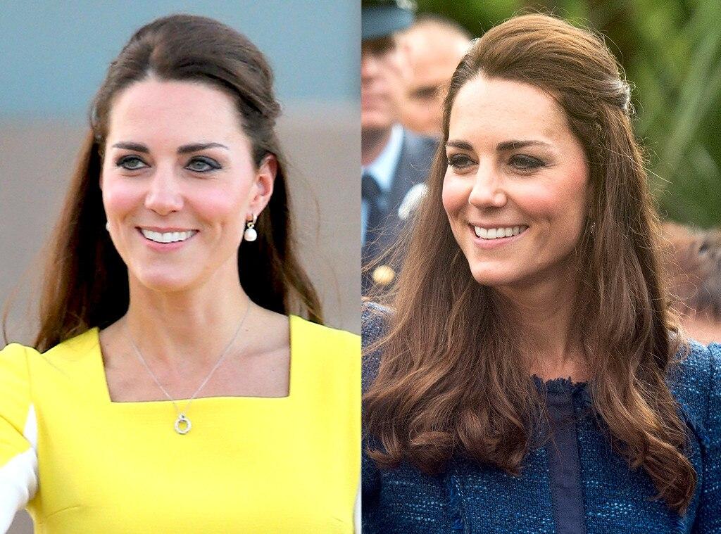 Duchess of Cambridge, Kate Middleton, Hair